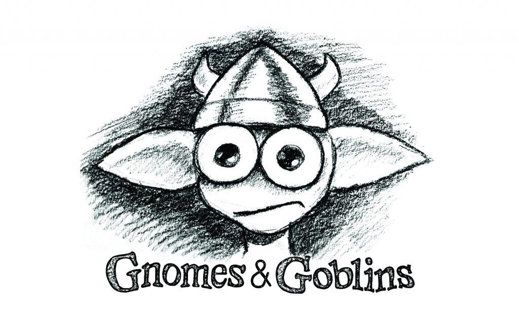 "A sketch by Jon Favreau of a goblin in ""Gnomes & Goblins."