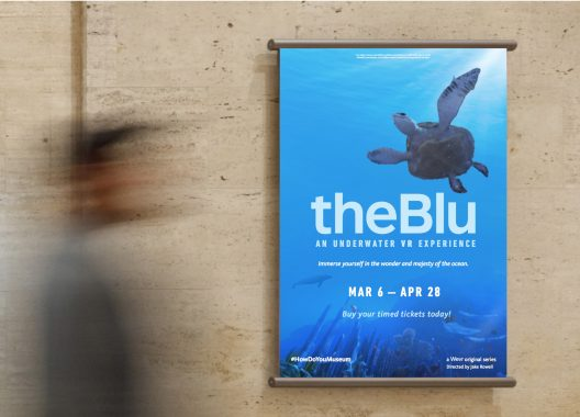 Wevr's theBlu at The Natural History Museum in Los Angeles