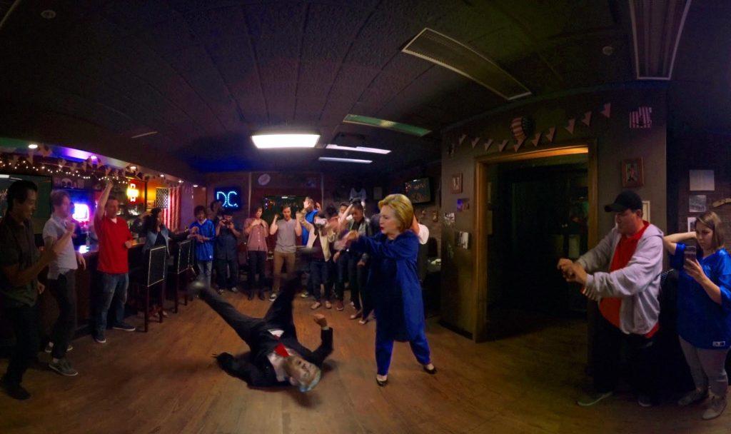 Gregory Brothers Trump Clinton rap battle