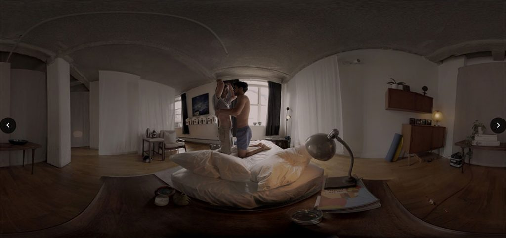 A scene from Rose Troche's acclaimed virtual reality experience If Not Love